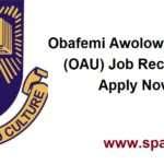Obafemi Awolowo University (OAU) Massive Job Recruitment 2017-2018 Apply Now for 27 positions