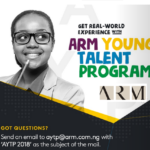 ARM Young Talent Programme (AYTP) 2018 Form is finally Out- Register Now