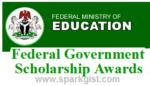 Federal Ministry of Education Scholarship Award 2019/2020 (Apply for FSB NA/SDG/Nigeria Scholarship)